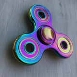 Full Metal Rainbow 3 Wing Fidget Spinner