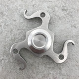 Silver Bottle Opener Spinner