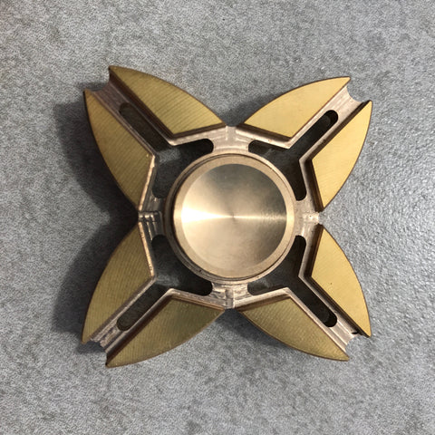 Metal Quad Wing Spinner