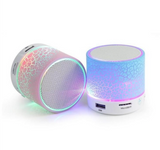 Mini LED Light-Up Bluetooth Speakers