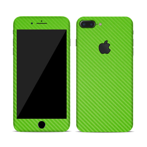 Vinyl Carbon Fiber Skin for iPhone - Green