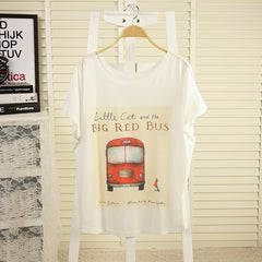 T shirt women style thin plus size loose