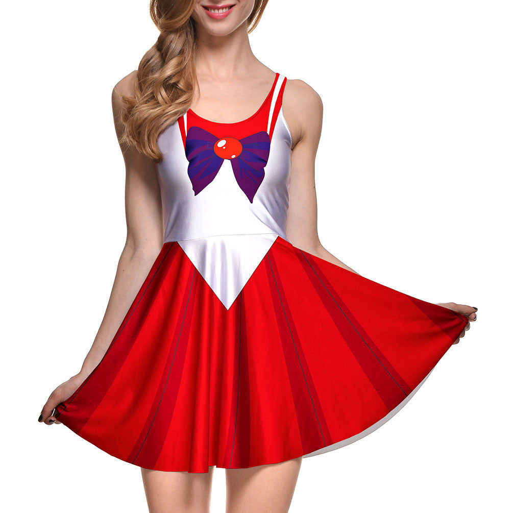 Sailor Moon Style Cosplay Costume DRESS