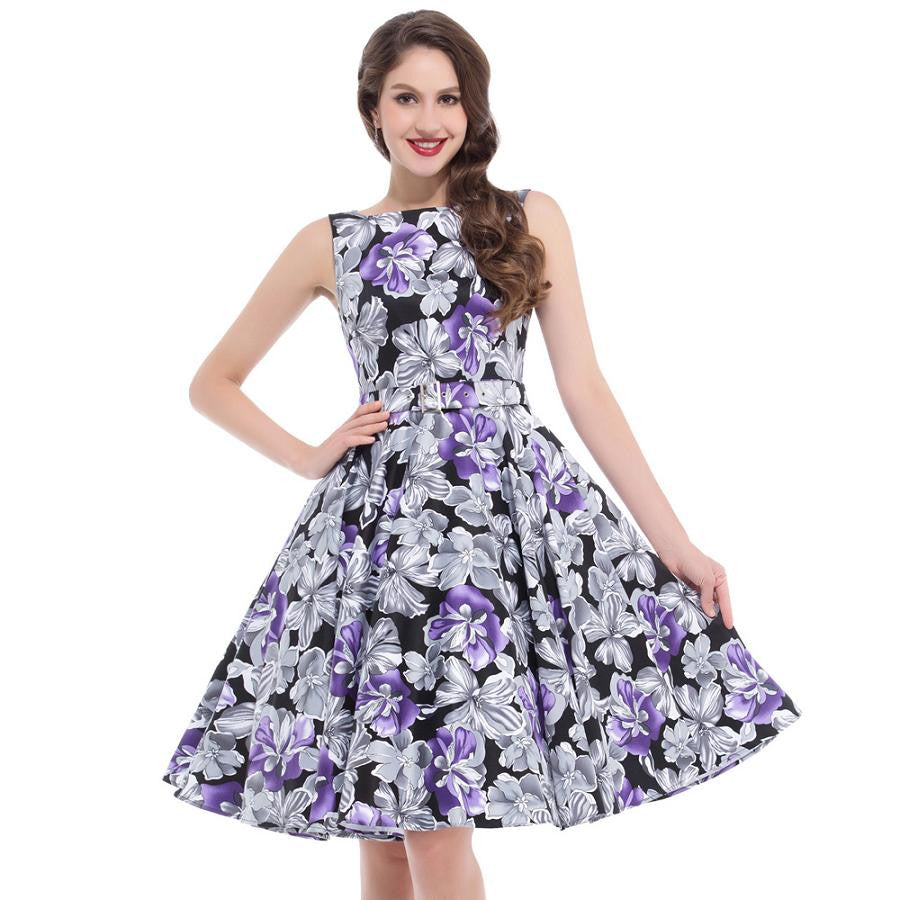 Women Summer Rockabilly Dress