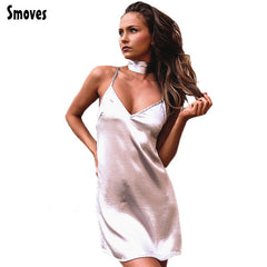 Smoves Women Sexy Deep V Neck