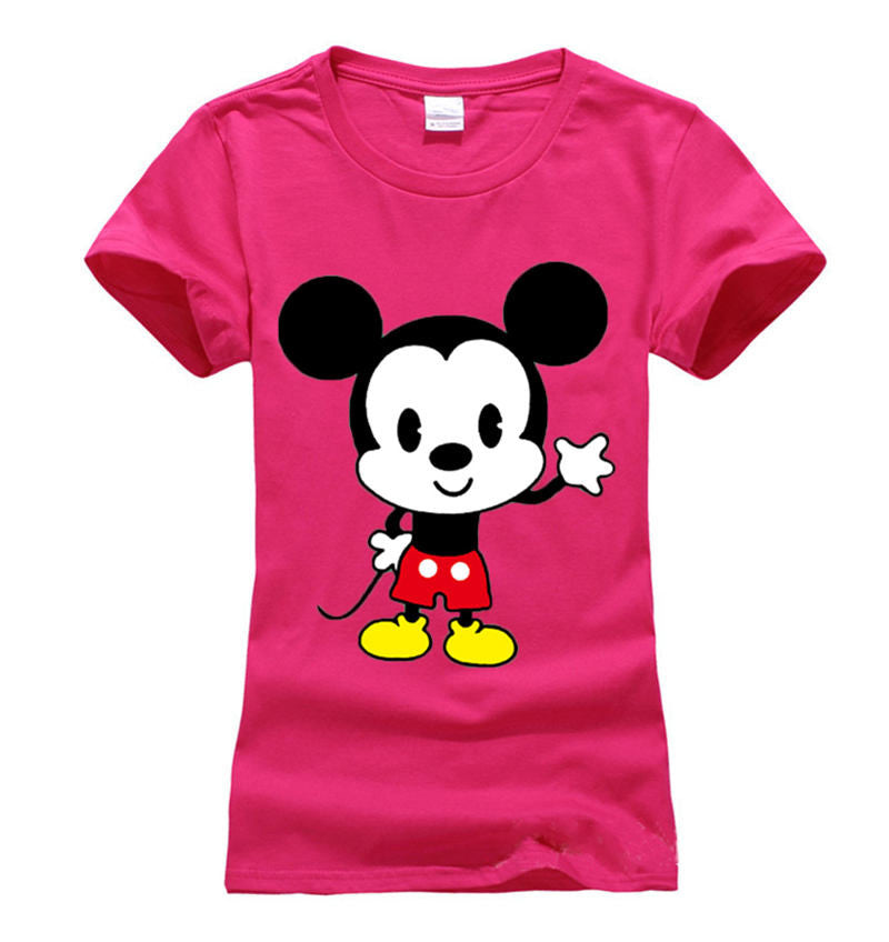Women Striped mouse T Shirts