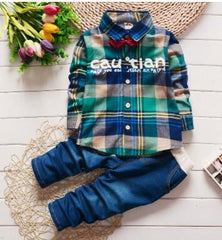 2017 Spring Kids Clothing Set