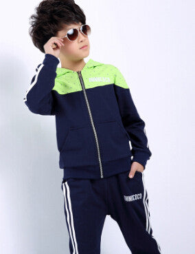 2 pcs suit jackets hoodies+pants set