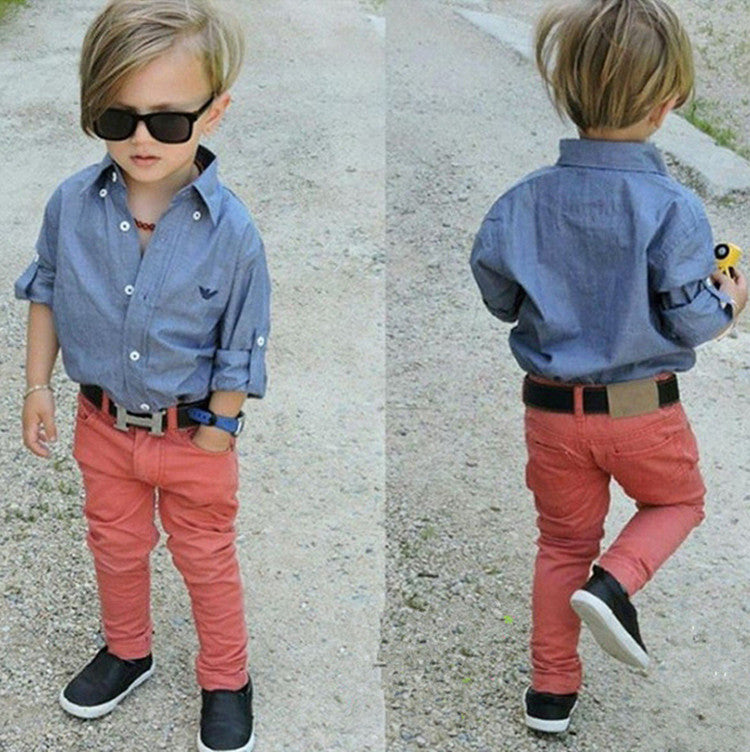 New arrival spring style boys clothes