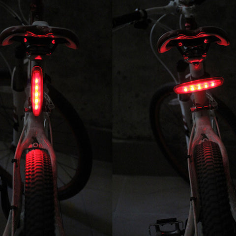 1pc Bike Light 5 led bicycle taillights bike accessories bicicleta