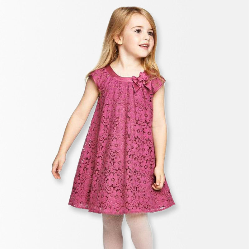 Summer Style Lace Girls Dress
