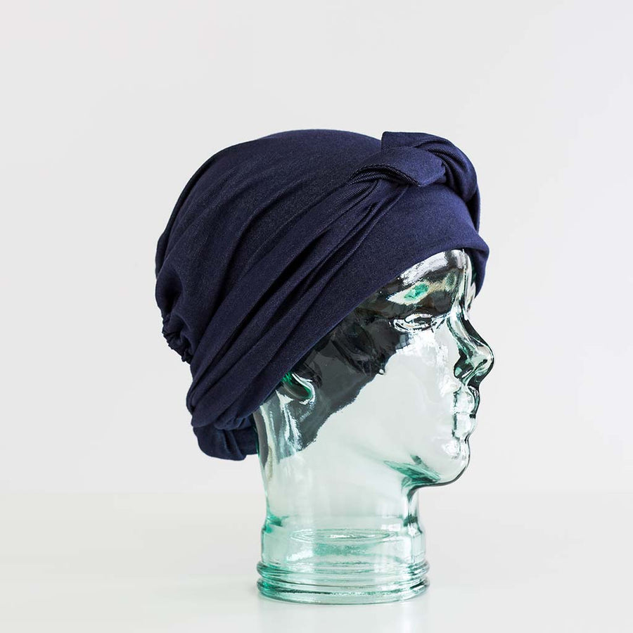 Turbanna Look Denim Adulte/Headwrap denim look adult