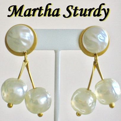 Artisan jewelry, Martha Sturdy earrings - Jewelry Bubble
