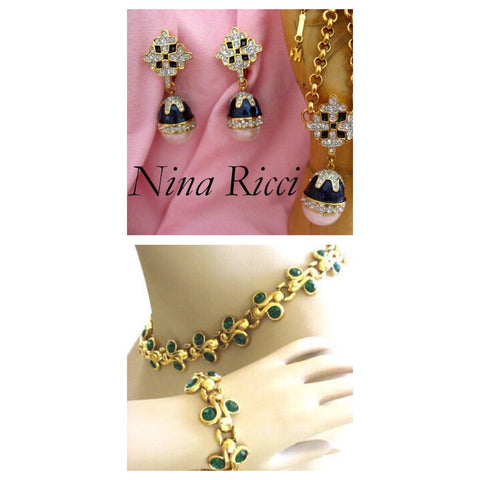 Women's fashion Jewellery by Nina Ricci - Jewelry Bubble 1