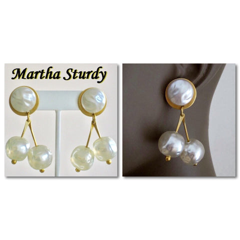 Artisan jewelry, Martha Sturdy earrings - Jewelry Bubble blog