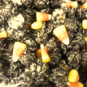 Black Licorice w/Candy Corn