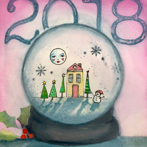Online Class | Whimsy Holiday Mixed Media Project with Kae Pea