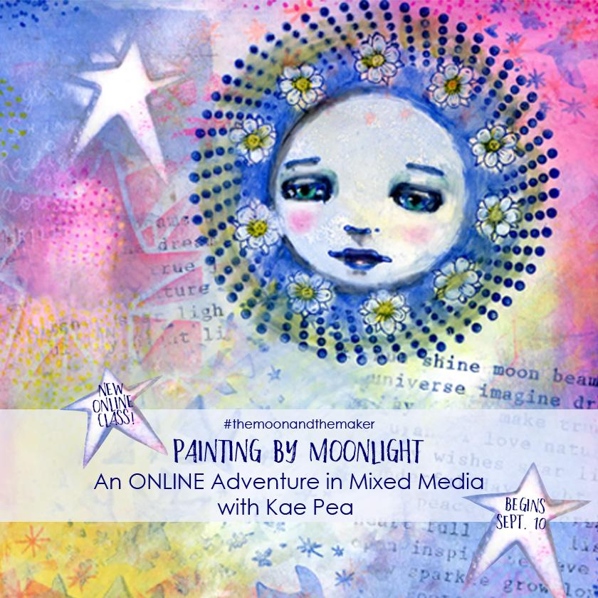 Online Class | Painting by Moonlight with Kae Pea