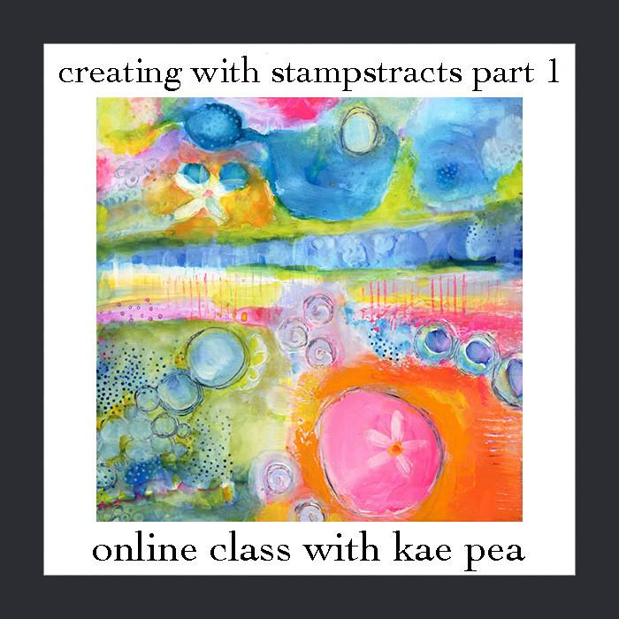 Online Workshop | Stampstraction | w/Kae Pea