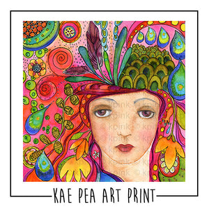Garden of Your Mind Art Print | Kae Pea