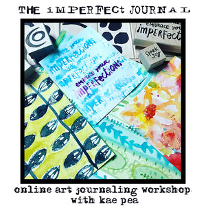 Online Workshop | The Imperfect Journal Workshop with Kae Pea