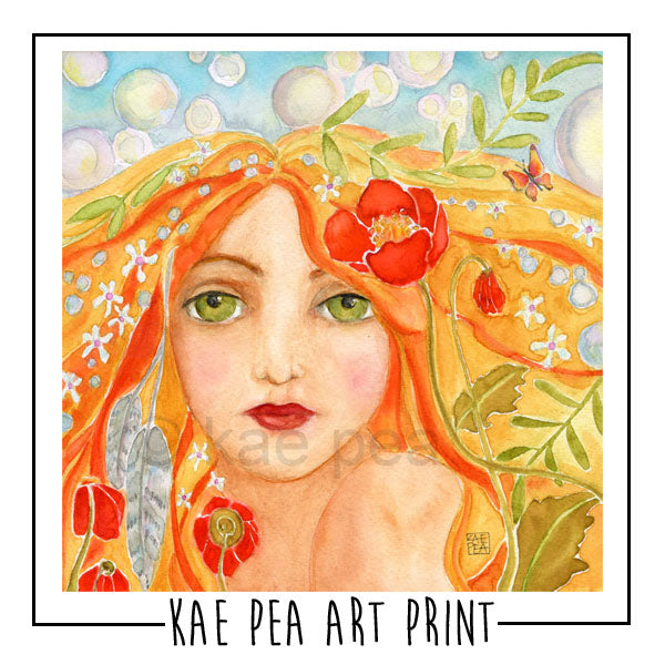 Wishes and Dreams Art Print | Kae Pea