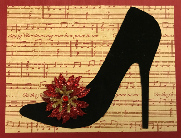 Holiday - Red Shoes with Music