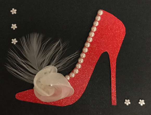Red Pearl Shoe