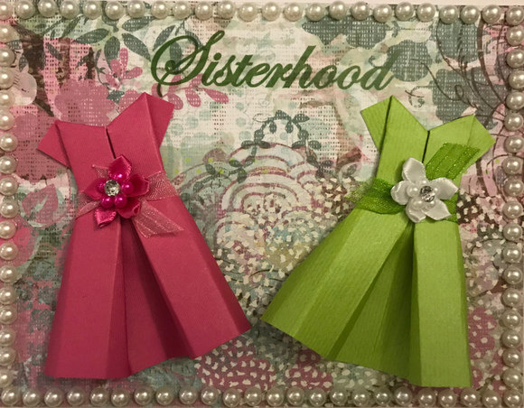 Sisterhood - Pink & Green