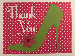 Thank You - Pink & Green