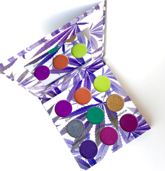 Purple Kush 9 Color Eyeshadow