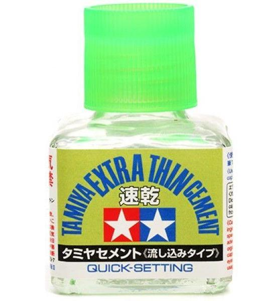 Extra Thin Cement Glue (Quick Setting) 40ml glass bottle