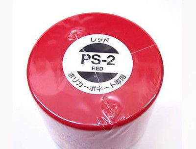 PS-02 RED Spray Paint Can FOR POLYCARBONATE 3.35 oz. (100ml) 86002