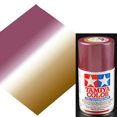 PS-47 PINK GOLD R/C Spray Paint FOR POLYCARBONATE (3.3 OZ.) 86047