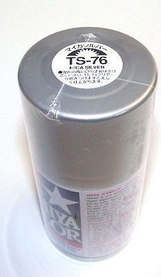 TS-76 MICA SILVER Spray Paint Can  3.35 oz. (100ml) 85076