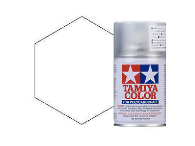 PS-01 White Spray Paint Can FOR POLYCARBONATE 3.35 oz. (100ml) 86001