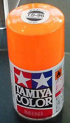 TS-96 FLUORESCENT ORANGE Spray Paint Can  3.35 oz. (100ml) 85096