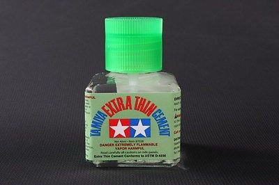Extra-Thin Liquid Glue Cement for Plastic Models  40ml glass bottle