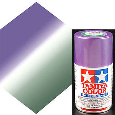 PS-46 PURPLE GREEN R/C Spray Paint FOR POLYCARBONATE (3.3 OZ.) 86046
