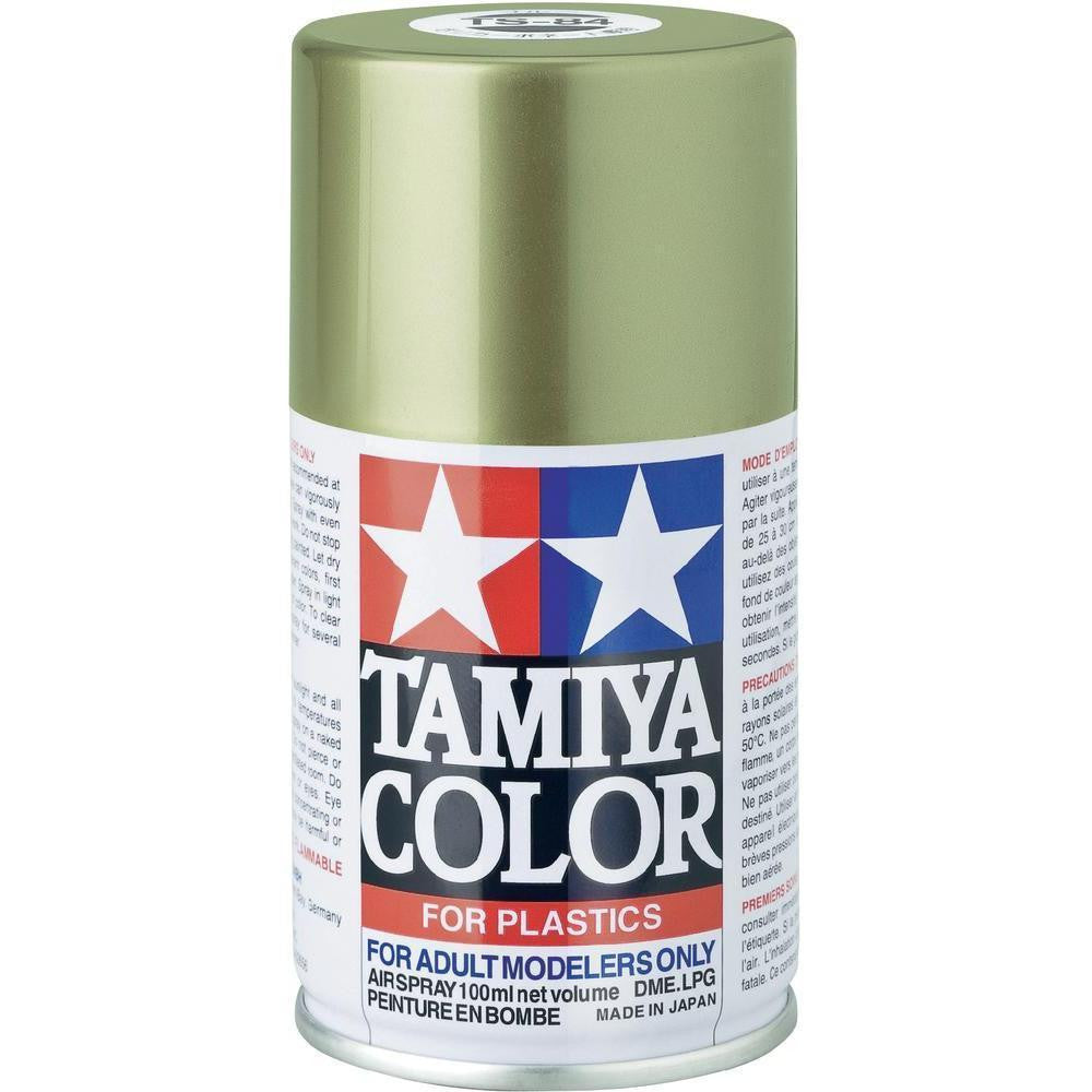TS-84 METALLIC GOLD Spray Paint Can  3.35 oz. (100ml) 85084