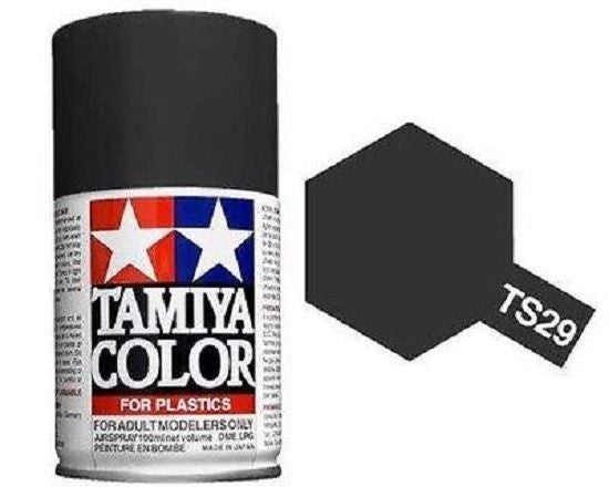 TS-29 Semi Gloss Black Spray Paint Can  3.35 oz. (100ml) 85029