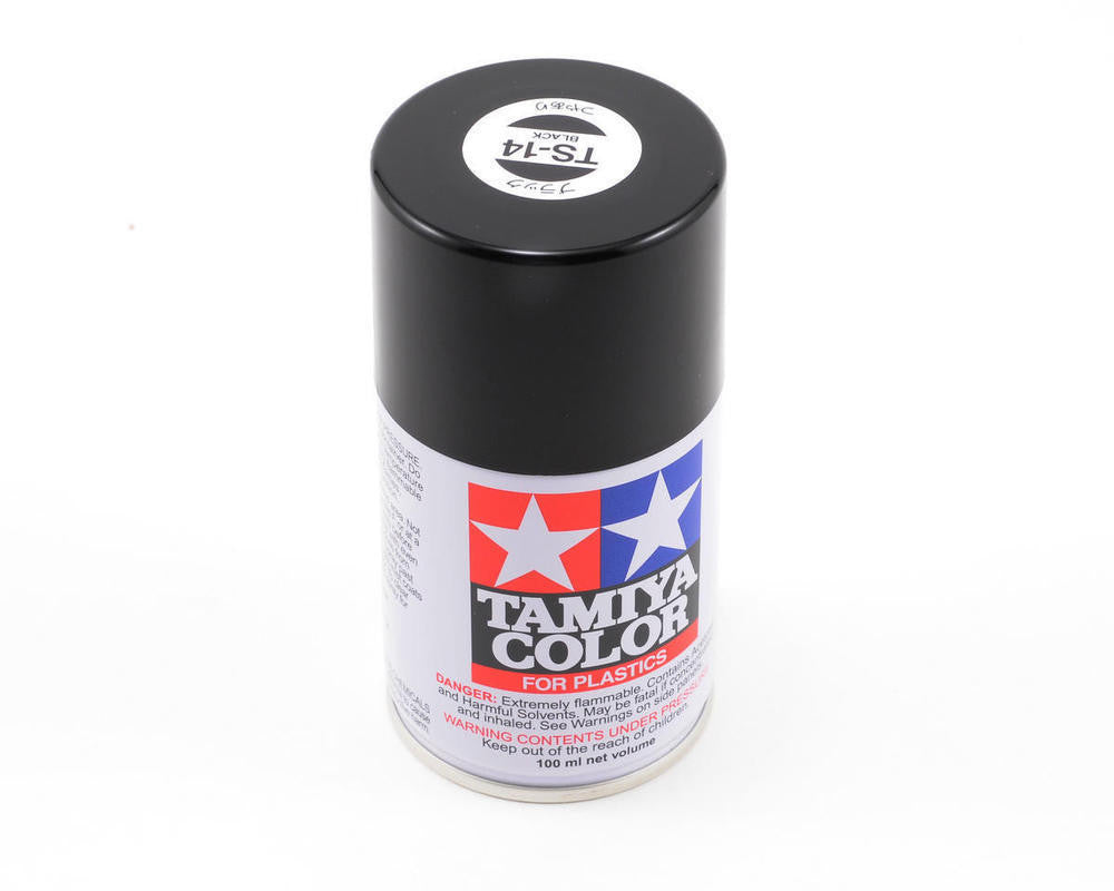 TS-14 Black Spray Paint Can  3.35 oz. (100ml) 85014