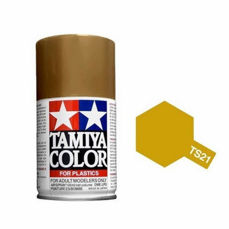 TS-21 Gold Spray Paint Can  3.35 oz. (100ml) 85021