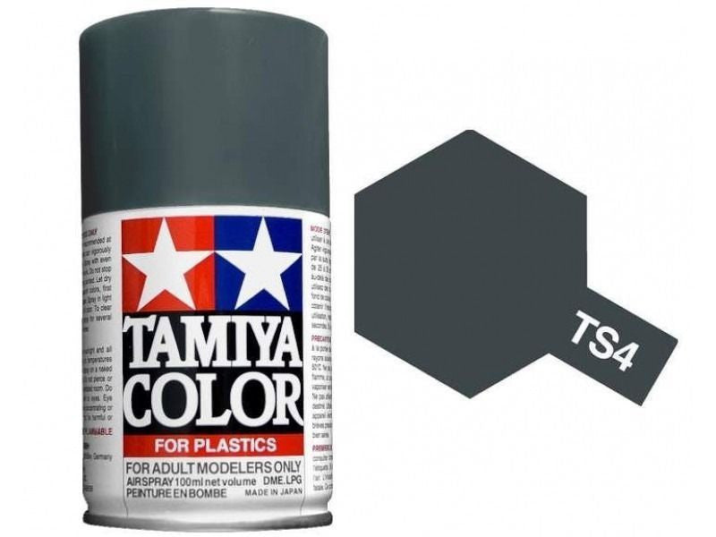 TS-4 German Grey  Spray Paint Can  3.35 oz. (100ml) 85004