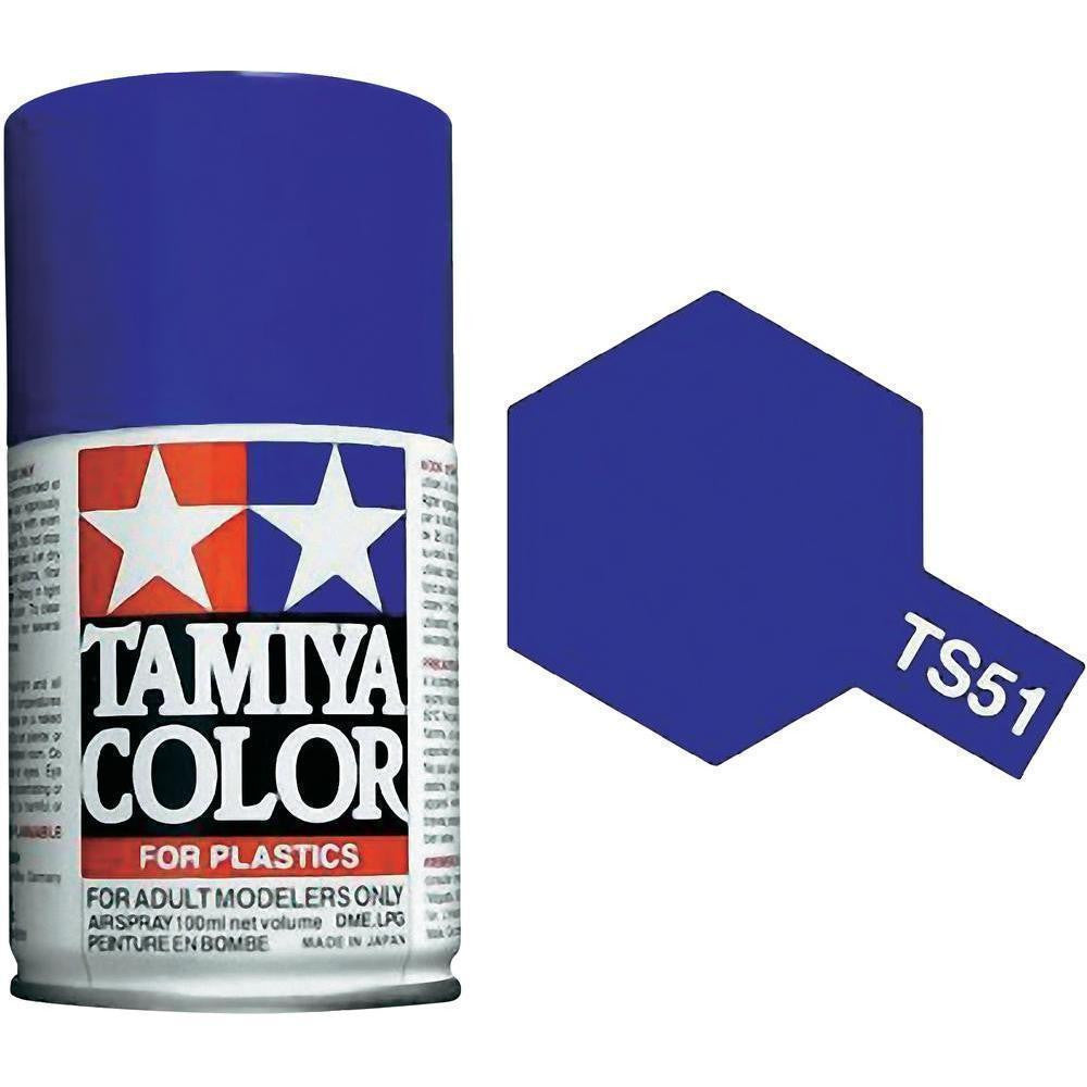TS-51 Racing Blue Spray Paint Can  3.35 oz. (100ml) 85051