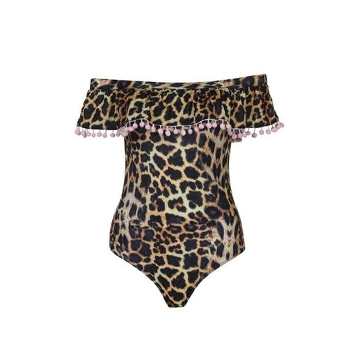 Leopard Print One Piece - Valli Moyna