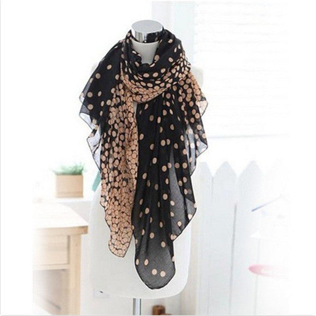 Long Dots Scarf