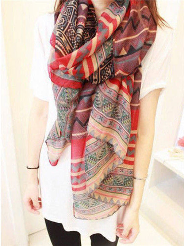 Soft Colorful Scarves