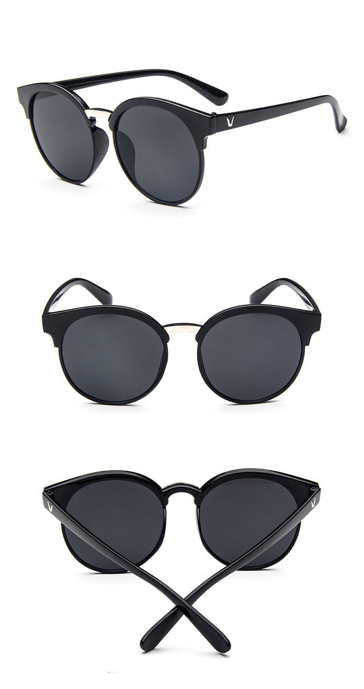 Oval Shape Sunglass