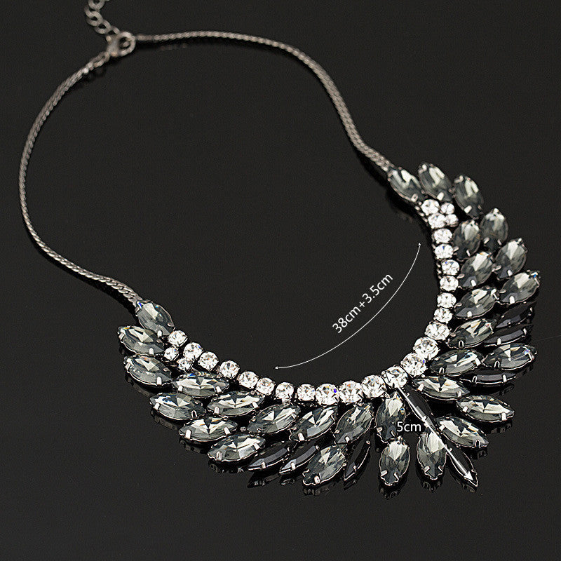 Crystal Necklaces Choker Statement